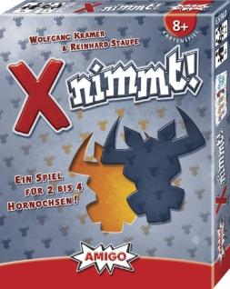 Amigo X nimmt Ein spannendes Kartenspiel für die ganze Familie