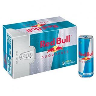 Red Bull Sugarfree koffeinhaltiges Erfrischungsgetränk 250ml 8erPack
