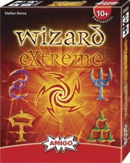 Amigo Wizard Extreme Spannendes Kartenspiel für die ganze Familie