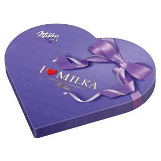 Milka I Love Milka Pralines Herz Menge:50g