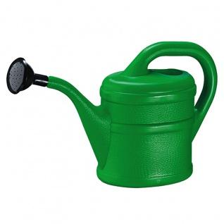 Gießkanne grün Geli hochwertiger Kunststoff Fassungsvermögen 2l