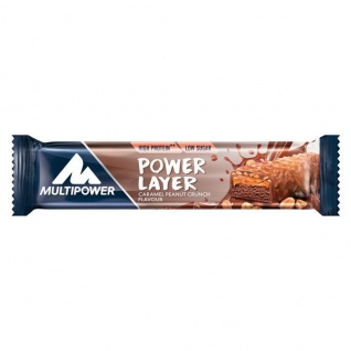 Multipower Protein Layer Riegel Caramel Penut Chrunch Flavour 50g