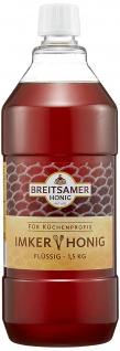 Breitsamer Honig Imkergold flüssig für Küchen - Profis 1500ml