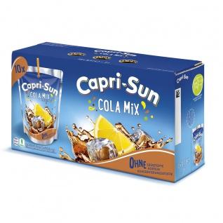 Capri Sun Cola Mix Getränk mit Zitrone und Cola Geschmack 10x200ml