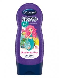 Bübchen 3in1 Meereszauber Kids Shampoo Shower Spülung 230ml 8er Pack