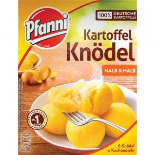 Pfanni Kartoffel Knödel halb und halb 6 Stück im Beutel 200g