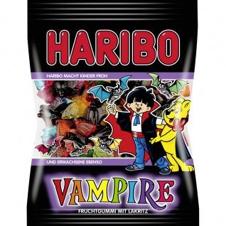 Haribo Vampire bunte Fruchtgummi Fledermäuse mit Lakritz 200g