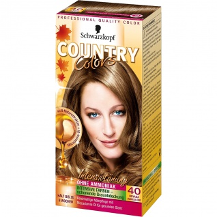 COUNTRY COLORS Intensiv-Tönung 40 Nevada Dunkelblond Stufe 2 123ml