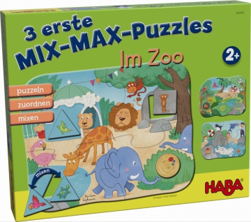 3 Puzzle Im Zoo