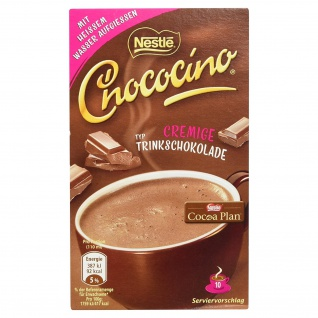 Nestlé Chococino cremige Trinkschokolade, 10 Beutel, 220 g