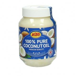 KTC 100% Pure Coconutoil reines Kokonussöl ideal zum Braten 500ml