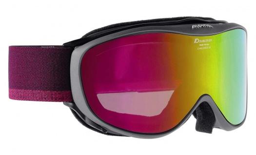 Alpina Challenge 2.0 MM anthracite pink Ski und Snowboardbrille