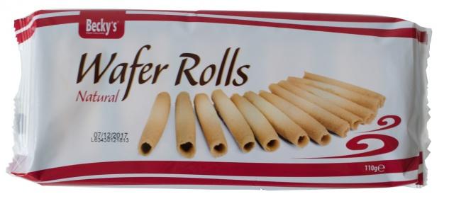 Beckys Wafer Rolls Natural