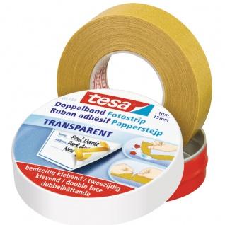 Tesa Doppelseitiges Klebeband dauerhaften Halt für viele Materialien
