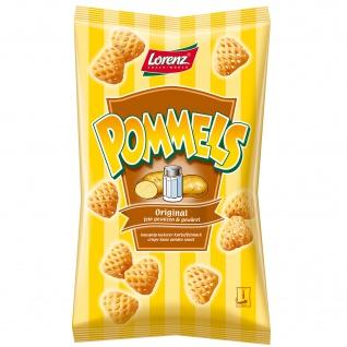 Lorenz Pommels Kartoffelsnack 75g, fein gesalzen und gewürzt