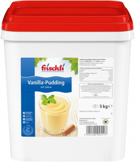 Frischli Sahne-Pudding Vanilla schmeckt wie selbstgemacht 5000g