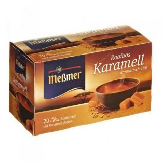 Meßmer Rooibos Karamell aromatisch süßlicher Genuss 10er Pack
