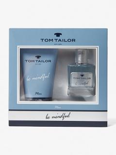 official store wholesale sales great fit Tom Tailor Geschenkset Be Mindful Men 30ml EDT und 150ml Duschgel