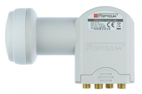 Quad-LNB LQP-04H 0, 1dB, 40mm-feed