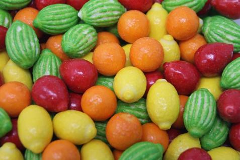 Kaugummi in Fruchtoptik mit Fruchtgeschmack Fruit Salad Gum 1000g