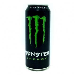 Monster Energy Drink Erfrischungsgetränk mit Koffein 500ml 6er Pack