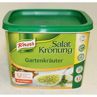 Knorr Salatkröung Gartenkräuter 500g