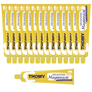 Thomy Delikatess Mayonnaise cremig würzig im Geschmack 100ml 15er Pack