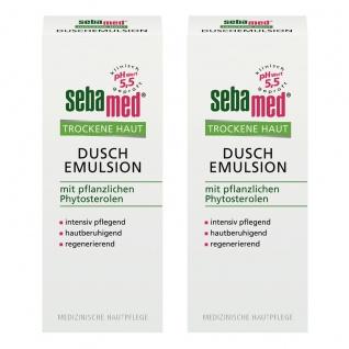 Sebamed Trockene Haut Duschemulsion mild hautberuigend 200ml 2er Pack