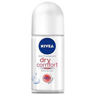 Nivea Dry Comfort Plus, 48h Deo Roll-on, ohne Alkohol - 50 ml
