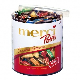 Merci Chocolate Collection Feine Pralinen in 7 köstlichen Sorten 1000g