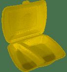 Menüboxen EPS 2 geteilt gold Papstar Starpak 90098 100 Stück