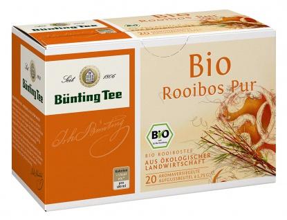 Bünting Tee Bio Rooibos Pur aus ökologischer Landwirtschaft 3er Pack