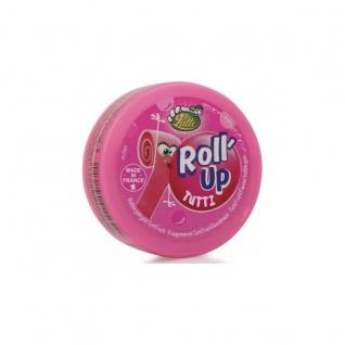 BIP Candy und Toys Kaugummi Lutti Roll up Tutti Frutti in der Dose 29g