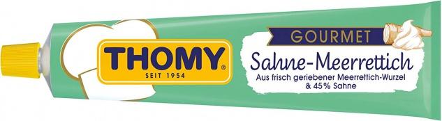 Thomy Gourmet cremiger Sahne-Meerrettich, mild, Tube mit 190g