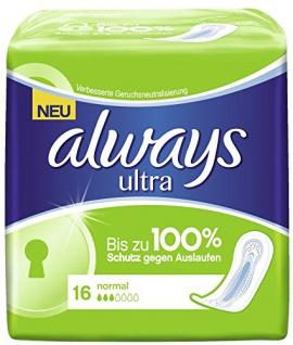 Always Ultra Normal Damenbinden für die normalen Tage 2er Pack