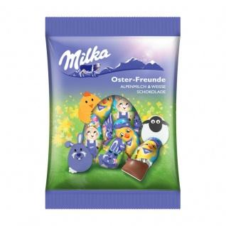Milka Oster Freunde Figuren aus massiver Schokolade Beutel 120g