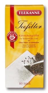 Teekanne Teefilter Kännchengröße für Teekannen bis - 1L, 56g