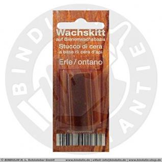 Bindulin Wachskitt Stange auf Bienenwachsbasis Farbe Erle 7g