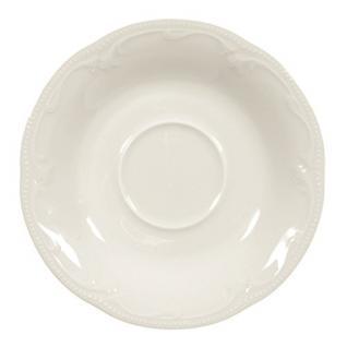 Königlich Tettau 004.030325 Untere zur Kaffeetasse 14, 5 cm, Rubin cream