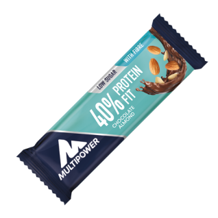 40% Protein Fit Bar Fitness Snack Riegel Chocolate Almond 35g