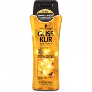 Gliss Kur Oil Nutritive Shampoo Geschmeidigkeit 250ml 6er Pack