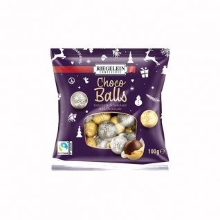Riegelein Choco Balls Kugeln aus massiver Volmilchschokolade 100g