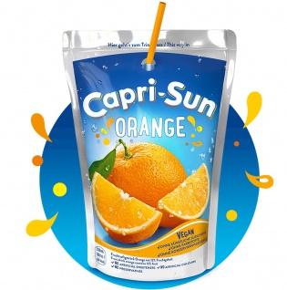 Capri Sun Orange 10 Trinkpacks mit Orangensaft-Erfrischungsgetränk 2000ml