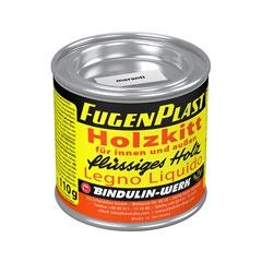 Fugenplast Wasserfester Holzkitt Farbe eiche hell Metalldose 110g - Vorschau