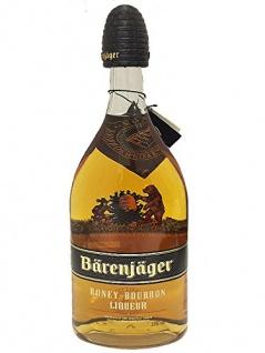 Bärenjäger Honey Bourbon Whiskylikör 0, 7 Liter