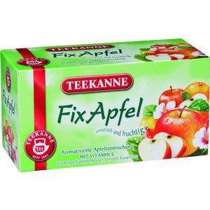 Teekanne Fix Apfel Apfelteemischung mit Vitamin C fruchtig 60g