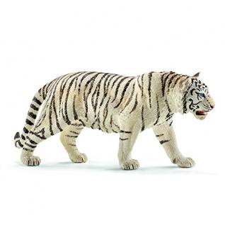 Schleich 1473 Wild Life Tiger Spielzeugfigur detailgetreu weiß