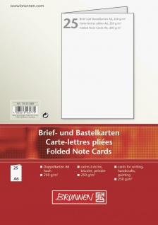 Briefkarten A6
