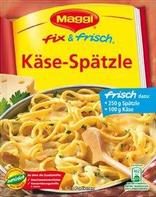 Maggi Fix & Frisch Fix für Käse-Spätzle