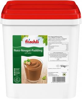 Frischli Nuss-Nougat Pudding mit Sahne schmeckt wie selbstgemacht 5000g